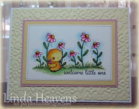 Linda Heavens - Daisy in bloom no2