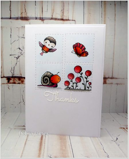 Debra James - Tucker, Robin, Blooms & Husch Card