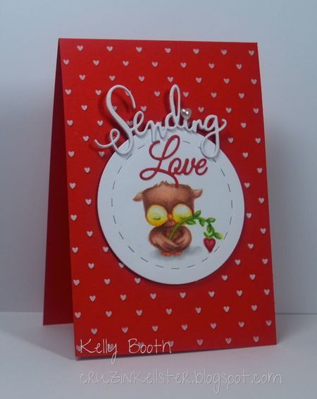 Kelly Booth - Sweetheart Card - side