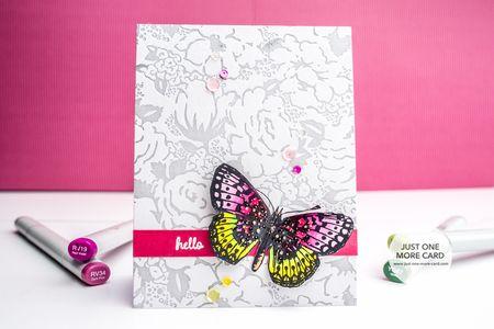 Julia Altermann - Butterfly Card
