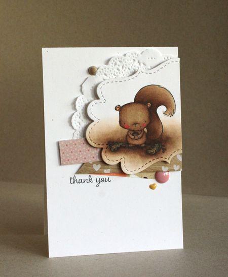 Alice Wertz - Cinnamon Card