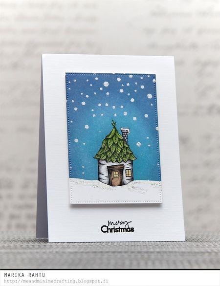 Marika Rahtu - Birch House Card