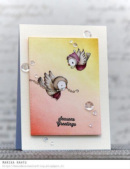 Marika Rahtu - Maple and Juniper Card
