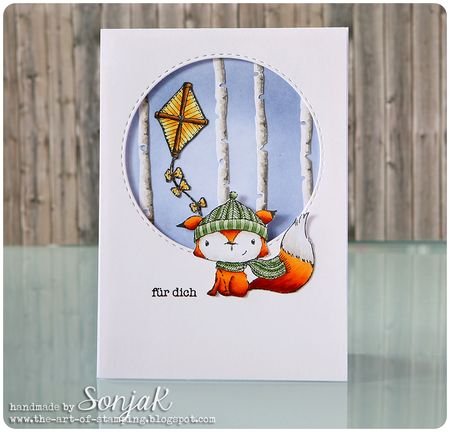 Sonja Kerkhoffs - Cedar and Kite card