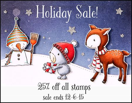 Holiday Sale 2015 Blog Graphic - black and white flat