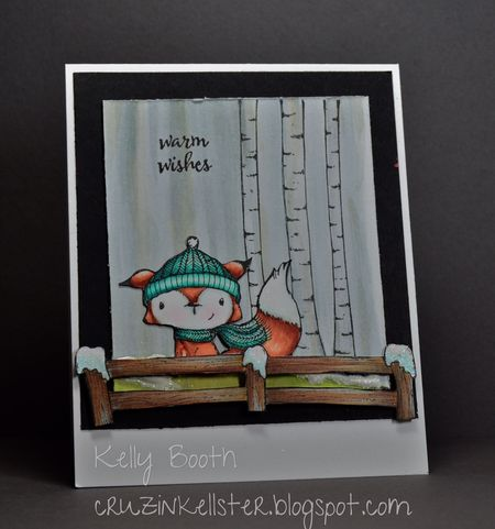 Kelly Booth - Cedar Birch Tree Card