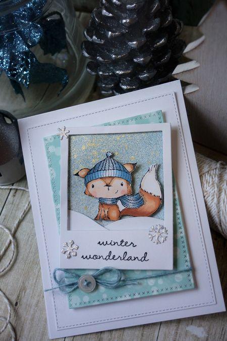 Sally On - Cedar Card