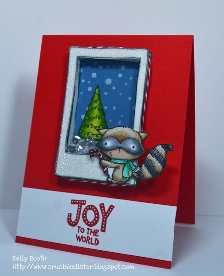 Kelly Booth - Joy to the World Ash Card - side