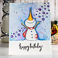 Julia Altermann - Jolly Birthday Card