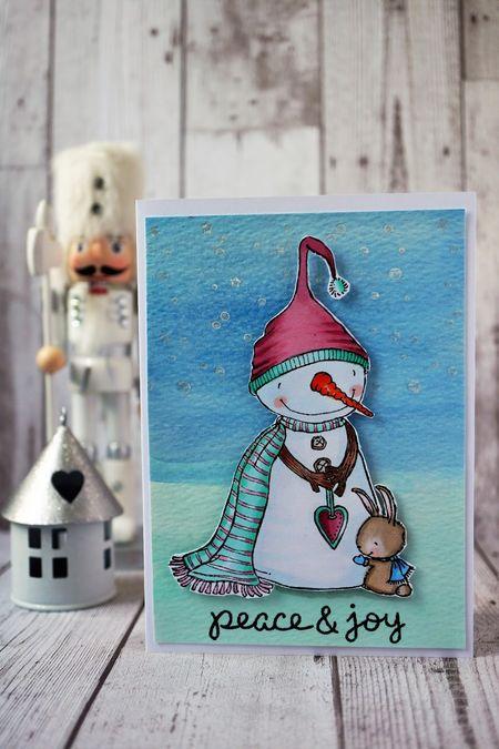 Sally On - Warmhearted Peace and Joy Card