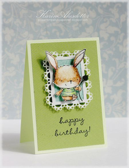 Karin Akesdotter - Happy Birthday Willa Card - side