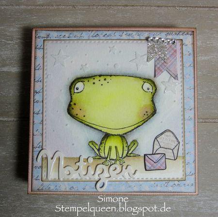Simone Schwagler - Freckles & Envies Card