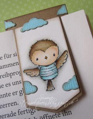 Simone Schwagler - Robin Bookmark