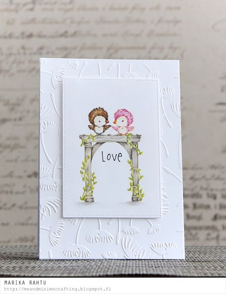 Marika Rahtu - Lovebirds