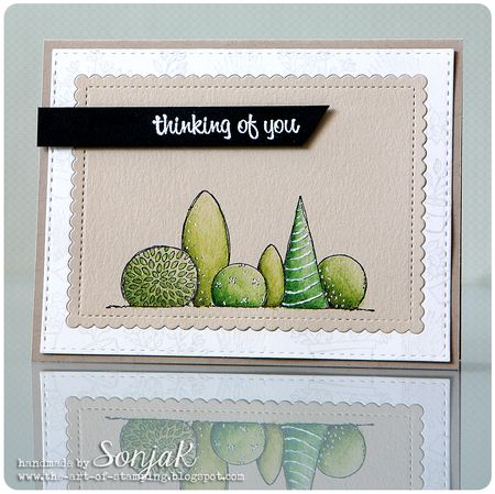 Sonja Kerkhoffs - Thinking Of You Garden Bushes