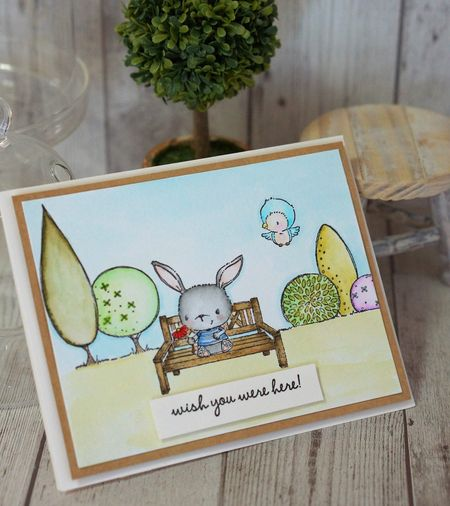 Sally On - Wish You Were Here 1