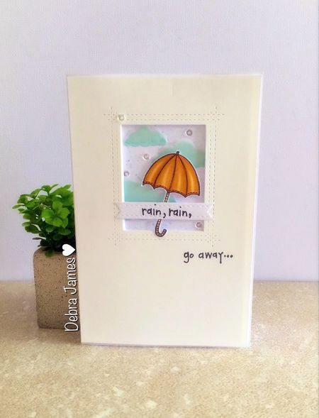 Debra James - Rain, Rain Card