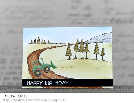 Marika Rahtu - Happy Birthday Card