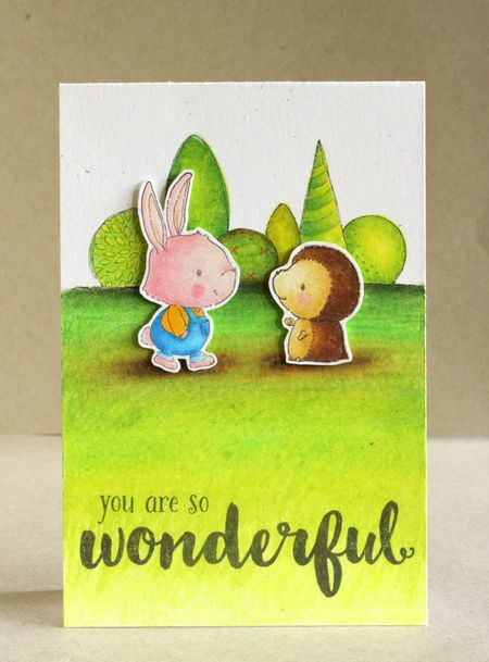 Alice Wertz - Winston and Milly Garden Bushes