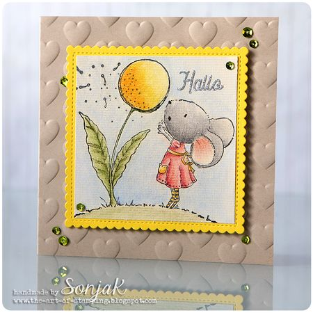Sonja Kerkhoffs - Wishing Hello Card