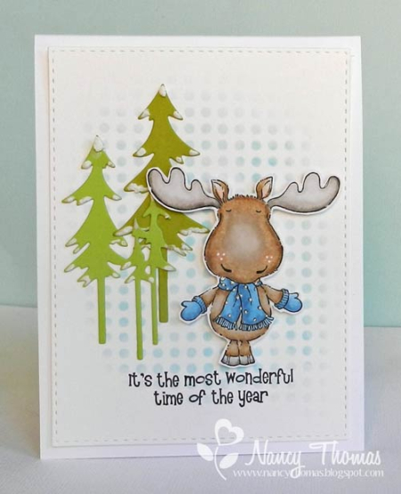 Nancy Thomas POD Moose Artic Wonderland