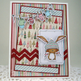 Tracey McDonald - Birch and Mitten Clothesline Card