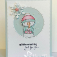Nancy Thomas POD Snowman Gift Handwritten Holiday