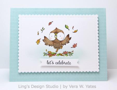 Vera Yates - Nutmeg Card