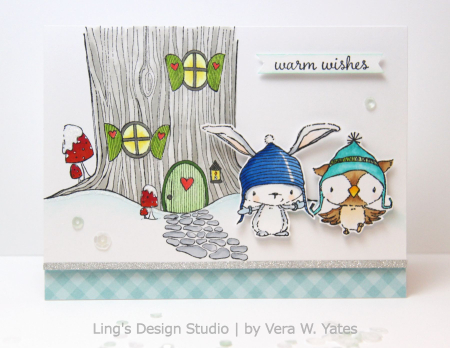 Vera Yates - Warm Wishes Treehouse Card