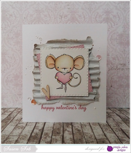 Susen Srb - Heartfelt Happy Valentines Day Card