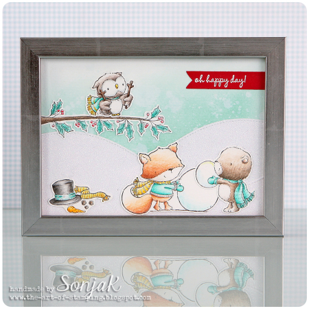 Sonja Kerkhoffs - Oh Happy Day Framed Art
