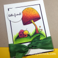 Sandy Allnock - Toadstool and Tucker Card