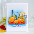 Kay Miller - Happy Pumpkin Card