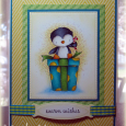 Linda Heavens - Merry Card