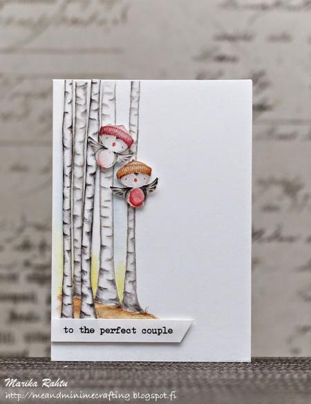Marika Rahtu - Mary Birch Tree Card
