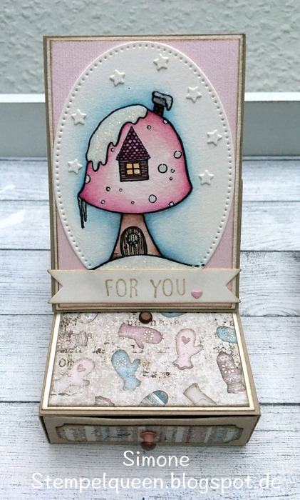 Simone Schwagler - Toadstool house