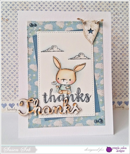 Susen Srb - Chloe Thanks Card