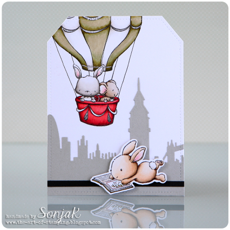 Sonja Kerkhoffs - Up and Away Zoey Card