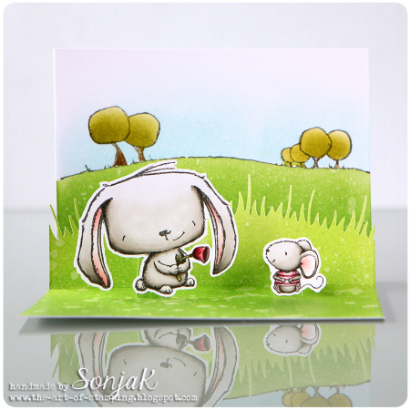 Sonja Kerkhoffs - Rosie and Charlotte Card