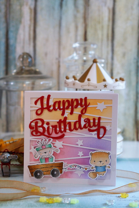 Sally On - Happy Birthday~Elm and Bobby1