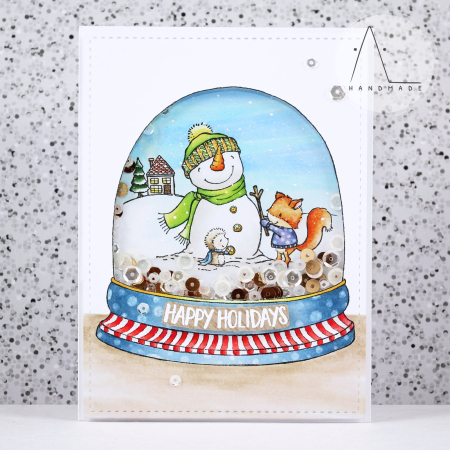 Anna Lorenzetto - Winter Friends Card