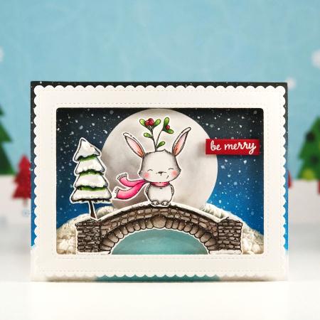 Amy Yang - Fawn Bridge Be Merry Card