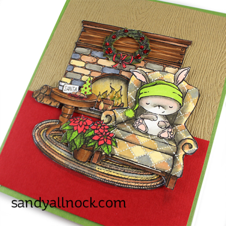 Sandy-Allnock- Sugarplum Card