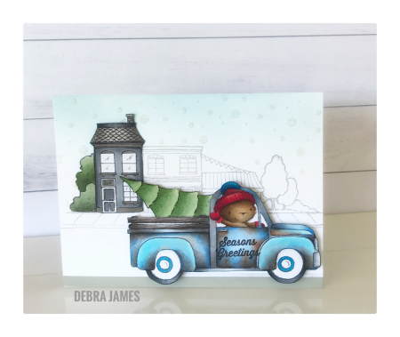 Debra James - Old Betsy Card