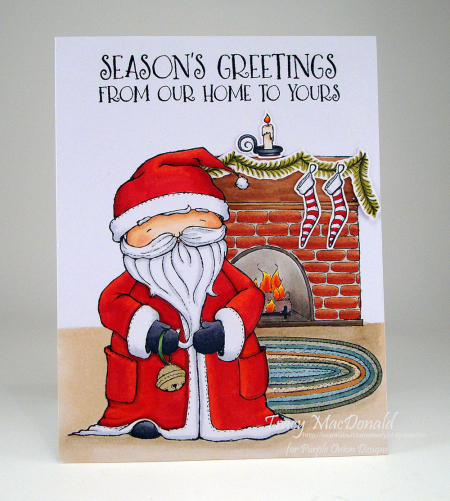 Tracy MacDonald - Santa Card
