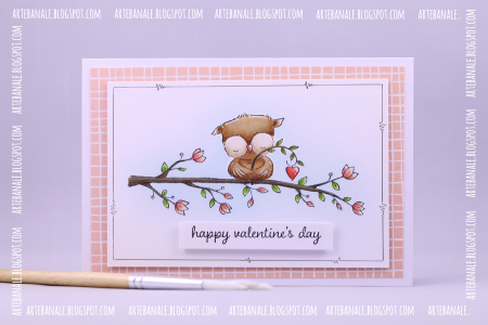 Agnieszka Danek-Wisniak - Sweetheart Blossoming Branch Valentines Card