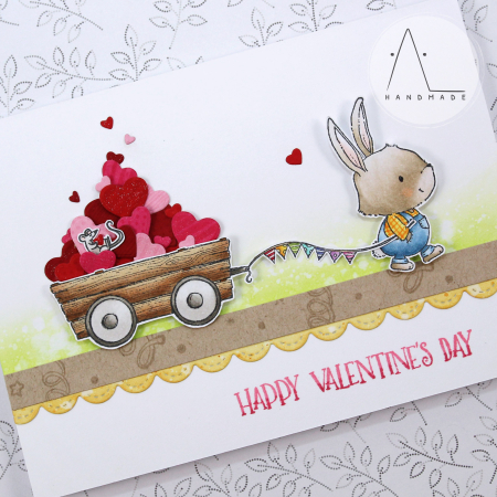 Anna Lorenzetto - Happy Valentine's Day Winston and Wagon