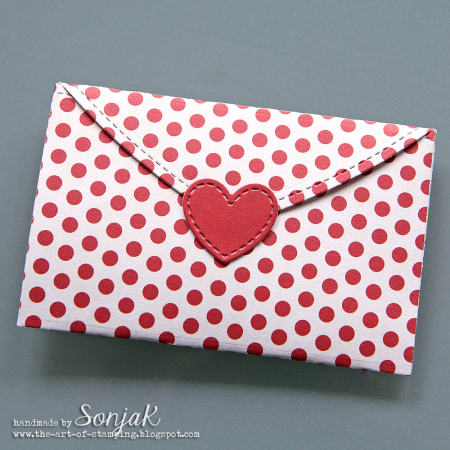 Sonja Kerkhoffs - Chloe Be Mine Valentine Envelope