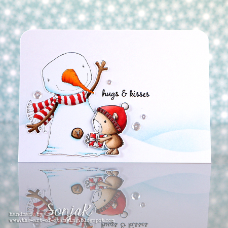Sonja Kerkhoffs - Berry and Oakley Hugs and Kisses Card