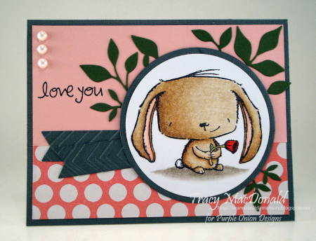 Tracy MacDonald - Rosie Love You Card